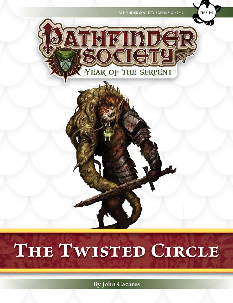 [PFS] #7-12 The Twisted Circle